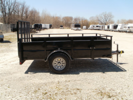 Parker Performance 77 X 10 Highster Steel Utility Trailer