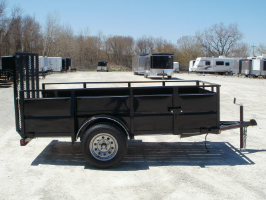 Parker Performance 5 x 10 Highster Steel Utility Trailer With Ramp Gat
