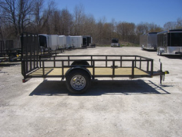 Parker Performance 77 X 12 Steel Angle Iron Utility Trailer With Ramp Gate