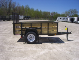 Cargomate 5 X 8 Woodside Utility Trailer With Ramp Gate