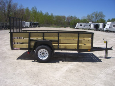 Cargomate 5 X 10 Woodside Utility Trailer With Ramp Gate