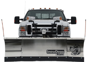 Snowdogg XP810 Expandable Wing Stainless Steel Snowplow