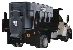 SaltDogg SHPE 3000 Electric Drive Salt & Sand Spreader  - SaltDogg SHPE Series Salter For Heavy Duty