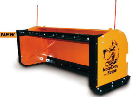 ScoopDogg Model 9153008 Snow Pusher Back Drag Kit - For Use With 8 Foot Wide Pusher On 5,500+ lb. Sk