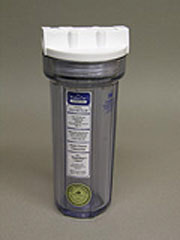 The Water Pur Company CCI-10-CLW 10-inch RV Water Filter Canister