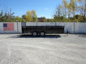 Parker Performance 77 x 14 Highster Steel Tandem Axle Utility Trailer With Ramp Gat