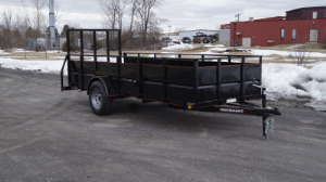 Parker Performance 5 X 14 Highster Steel Utility Trailer With Ramp Gate