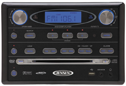 Jensen AWM970 Am / Fm / Dvd / USB / Ipod Ready Wallmount Stereo