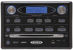 Jensen AWM970 Am / Fm / Dvd / USB / Ipod Ready Wallmount Stereo