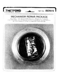 Thetford 08368 Aqua Magic Toilet Mechanism Repair Package