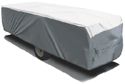 ADCO 22890 Tyvek Pop-up Tent Camper Trailer RV Cover For Length Up To 8-feet