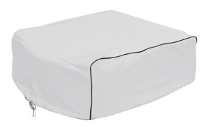Classic Accessories 77420 Snow White A/C Cover For Duo Therm Brisk Air/Quick Cool