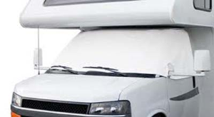 Classic Accessories 80-035 Snow White Windshield Cover For Dodge Sprinter
