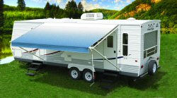 Carefree Of Colorado Pioneer RV Awning Manual Vinyl
