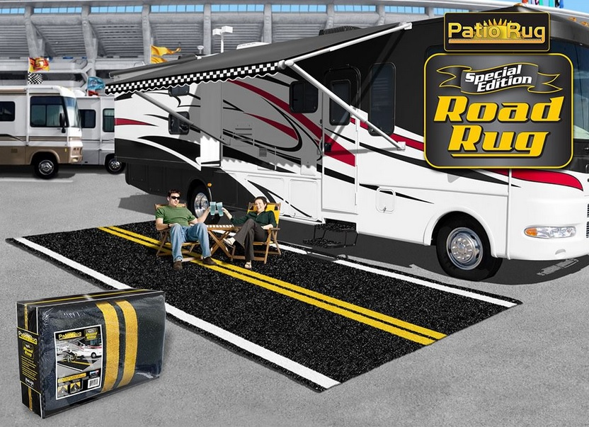 Buy Awning And Patio Mats For Your RV Travel Trailer Motorhome Fold