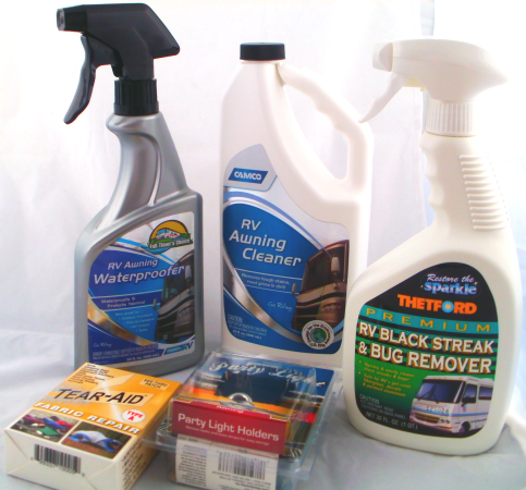 RV Fabric Awning Care Kit For Carefree of Colorado, A&E Dometic, Faulkner, and more!
