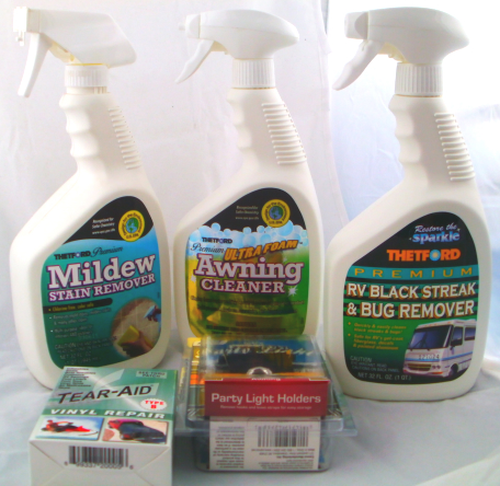 RV Vinyl Awning Care Kit For Carefree of Colorado, A&E Dometic, Faulkner, and more!