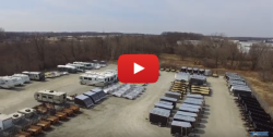 Cheap Used Clamshell Trailers Wisconsin & Chicago
