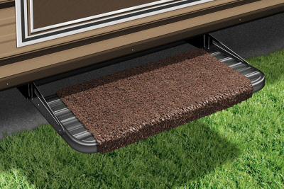 Presto-O-Fit RV Wraparound Step Rug Espresso 2-1040