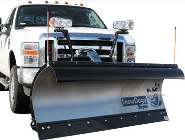 SnowDogg TE75 Stainless Steel Snow Plow With Trip Edge Design - Snowdogg TE Series Plow For 3/4 Ton