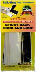 AP Products 00671 High Temp Sticky Back Hook And Loop