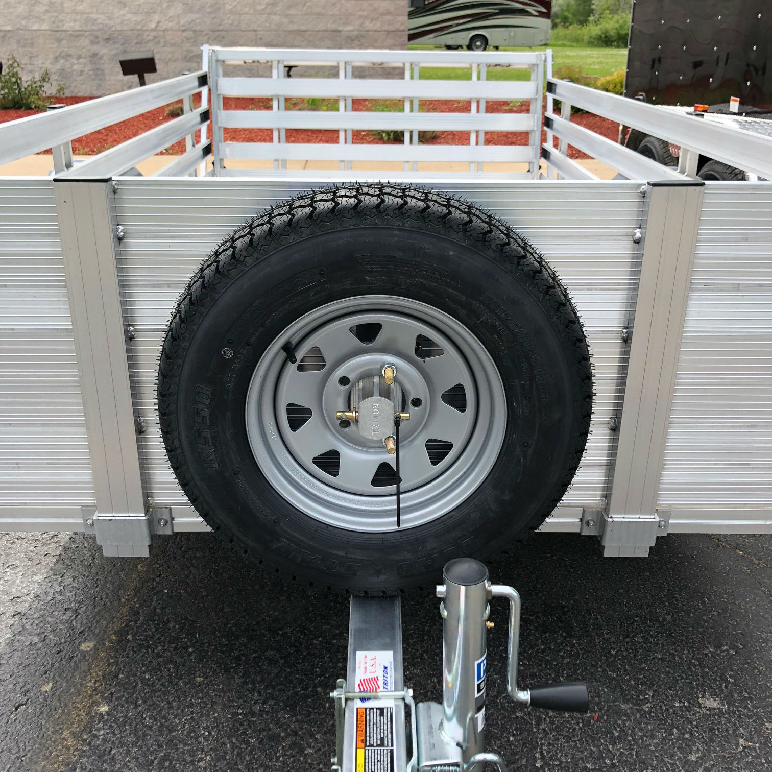 Car Trailers For Sale: Triton 11830 UT Series Utility Trailer Spare Tire Carrier