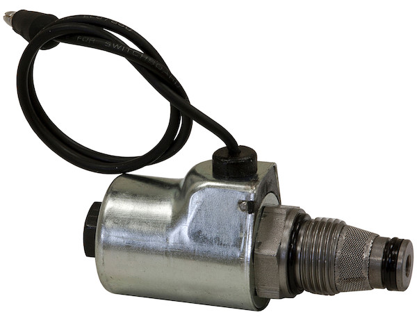 Buyers 1306035 A Solenoid Coil and Valve - 1/8in Stem - Replaces Meyer OEM 15661