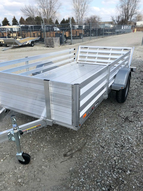 2018 Triton AUT12-72 6 X 12 All Aluminum Utility Trailer With Bi ...