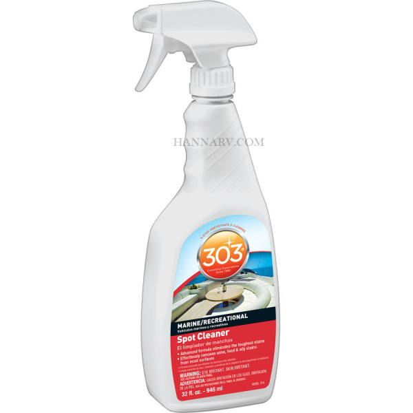 303 Products 30206 Cleaner And Spot Remover 32-oz. Trigger Sprayer