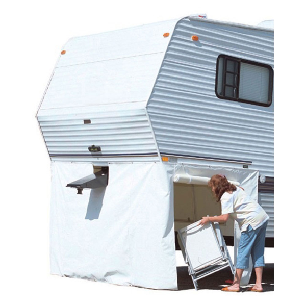 ADCO 3503 Polar White Vinyl 5th Wheel Storage Skirt 64 Inches High x 296 Inches Long