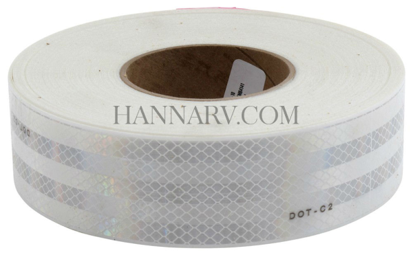 3M 29804 Conspicuity Tape - 2 Inch White 150 Foot Roll