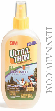 3M 605-6 Ultrathon Insect Repellant Pump Spray - 6 Oz.