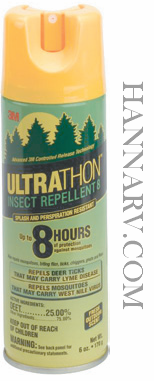 3M SRA-6 Ultrathon Insect Repellant Aerosol Spray - 6 Oz.