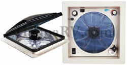 Fan-Tastic Vent 6000RBT 12 Volt Vent Fan - Smoke Lexan Dome