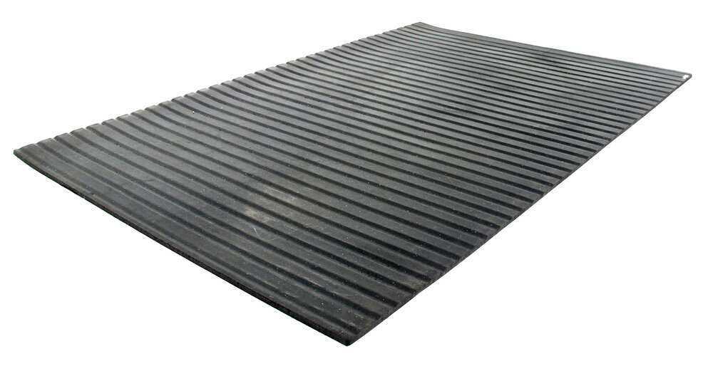 Surehoof 6084SM Ribbed Rubber Trailer Mat