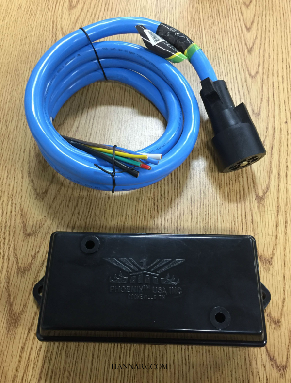 7 Way Trailer Wiring Repair Kit - Includes 6 Foot 7-Way Cold Weather ...