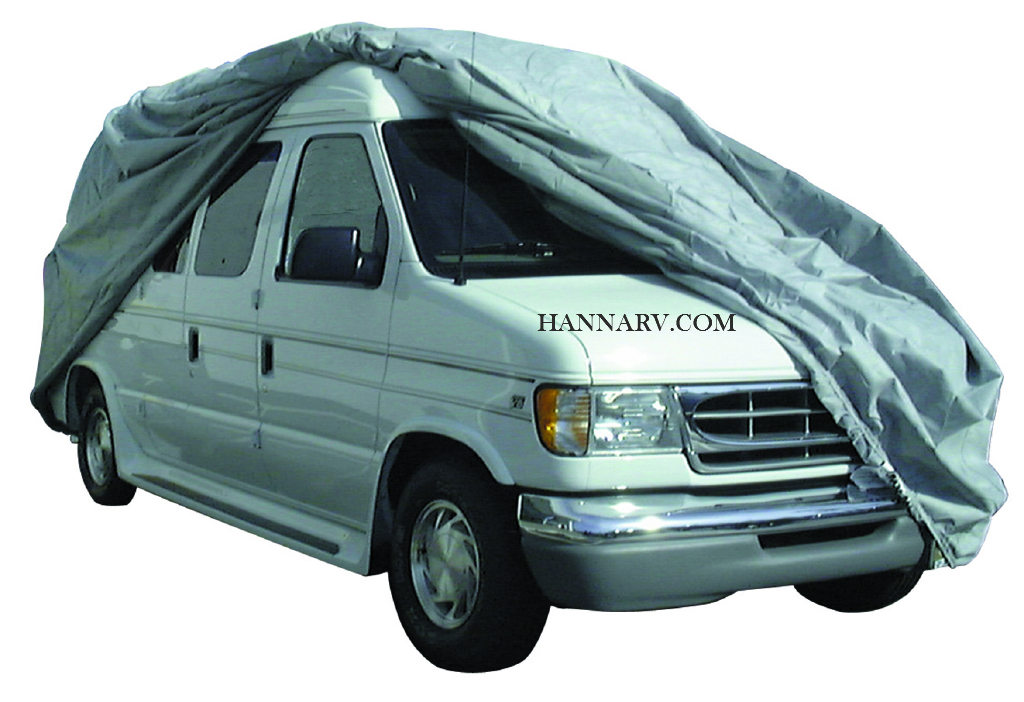 ADCO 12236 SFS Aquashed Class B Van RV Cover Length 18-feet With No Bubble Top