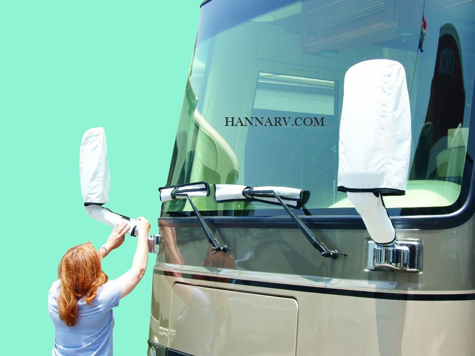ADCO 2478 Dupont Tyvek Mirror And Wiper Cover Set For Class A RV