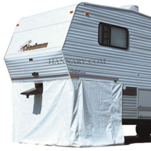ADCO 5Th Wheel Skirt RV Cover Polar White 64-inches H X 266-inches L - 3502