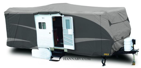 ADCO 52242 Designer Series SFS Aquashed Travel Trailer RV Cover 22-feet - 24-feet