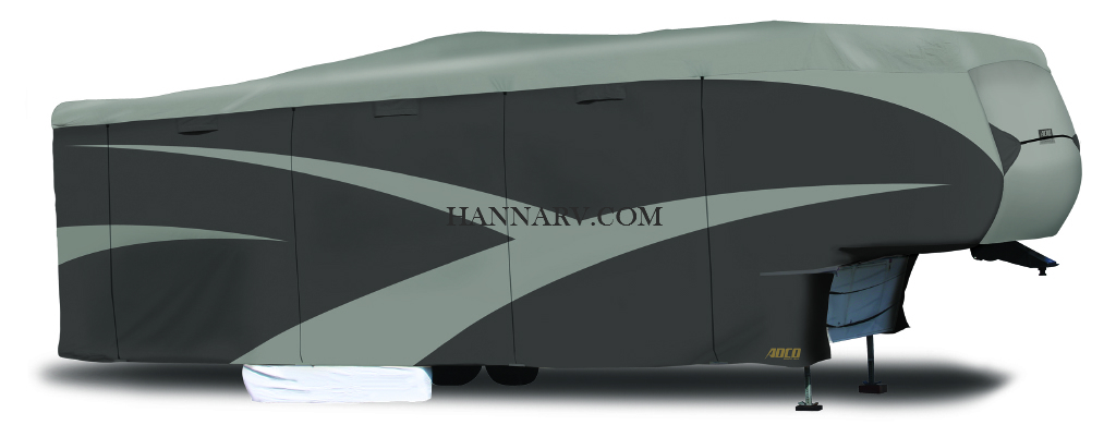 ADCO 52251 Designer Series SFS Aquashed 5th Wheel Trailer RV Cover Up To 23-feet 34-feet - 37-feet