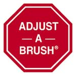 Adjust-A-Brush PROD404 All-A-Rounder Replacement 8 Inch Rubber Roof Brush Head