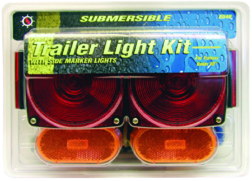 Anderson Marine Division Peterson Manufacturing E546 Submersible Light Kit For Under 80-inch Wide Trailers