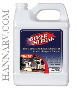 Best Products 65128 Super Streak Black Streak Remover 128-oz. Bottle