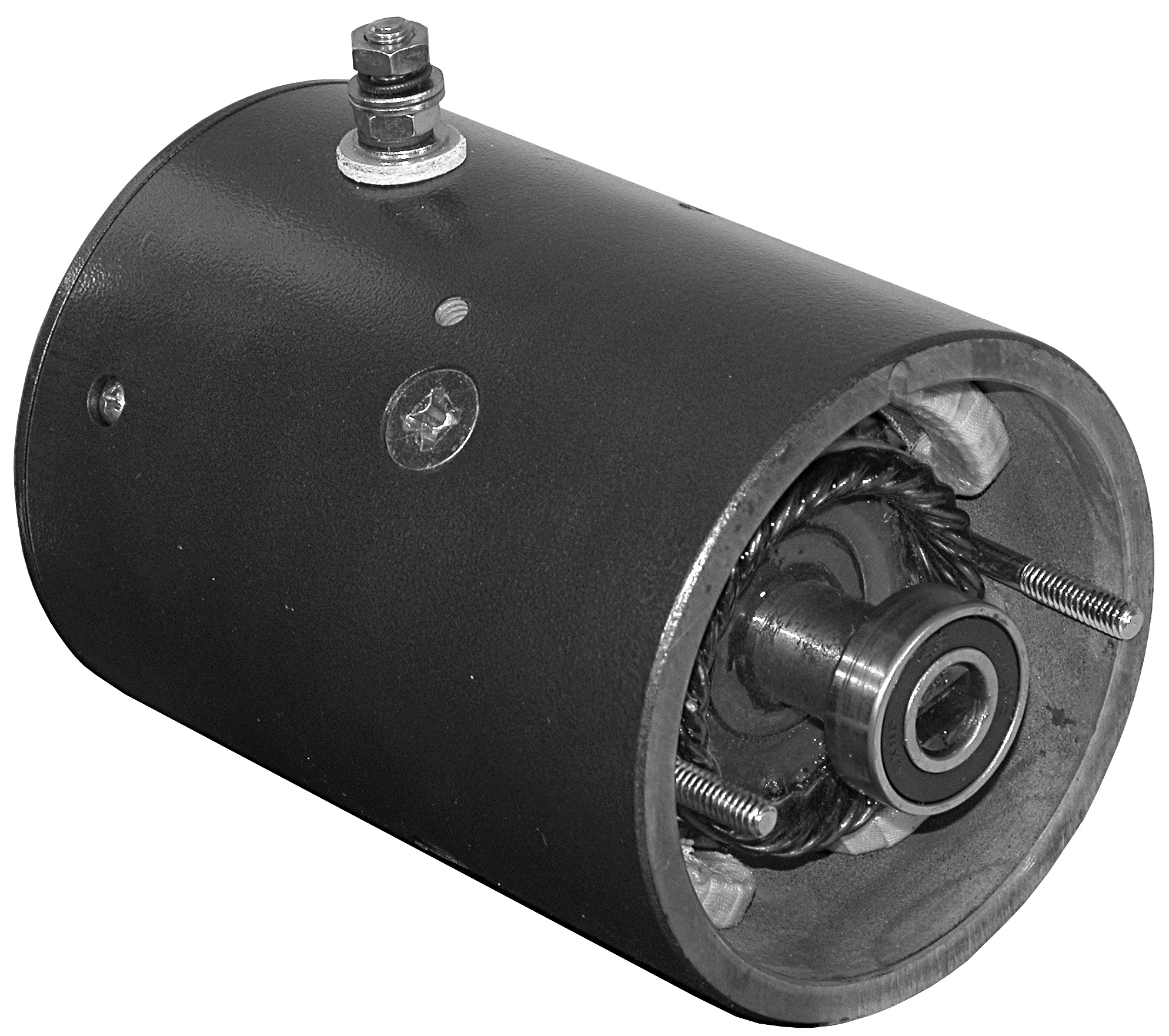 Buyers 1303600 12 Volt DC 4.5 Inch CCW Tang Shaft Sno-Way Snow Plow Replacement Motor