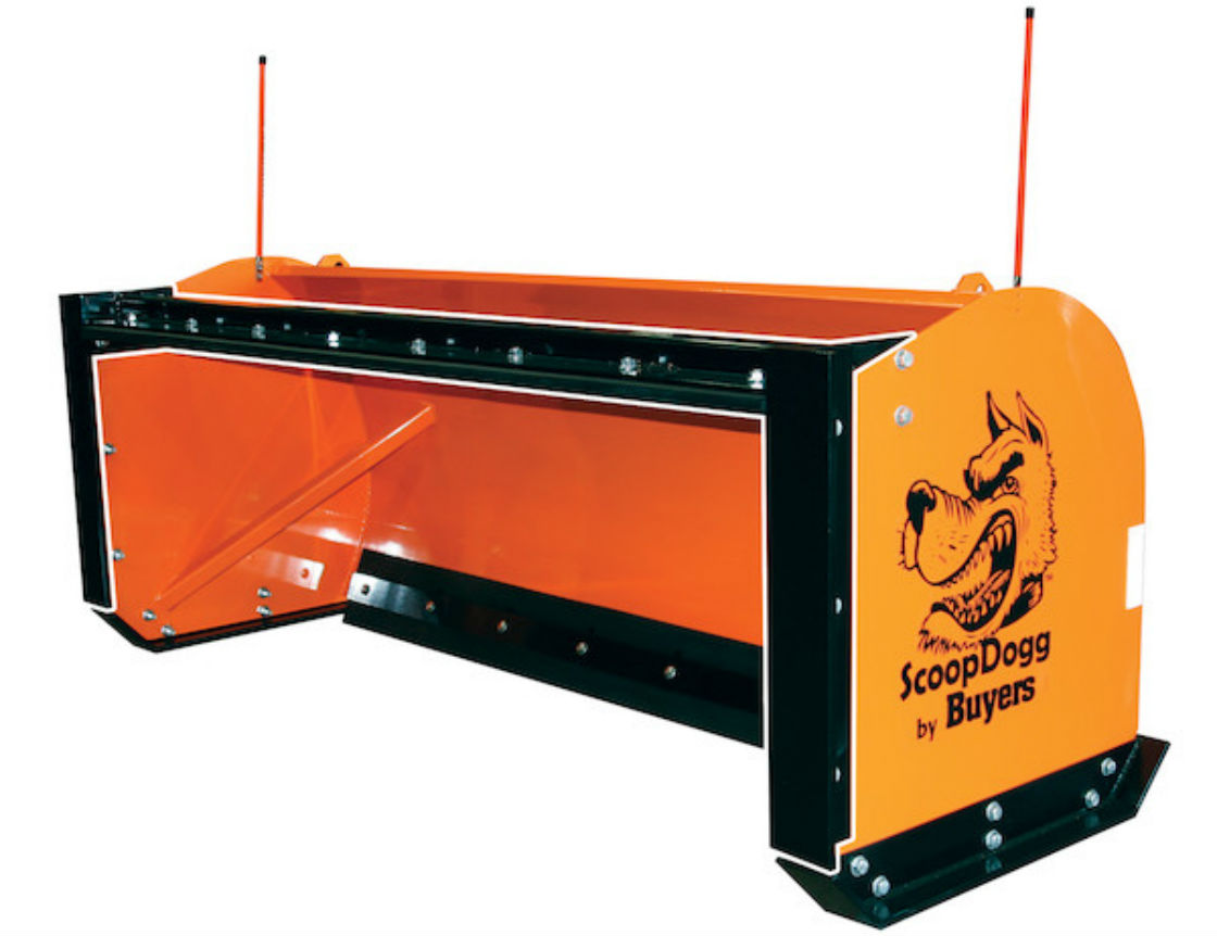 ScoopDogg Model 9153010 Snow Pusher Back Drag Kit - For Use With 10 Foot Wide Pusher On 7,000+ lb. Skid-Steer Machines