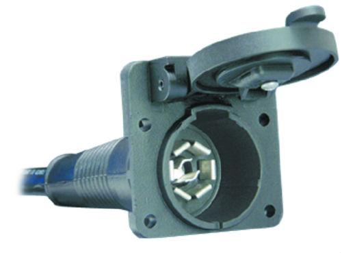 bargman rv plug wiring bargman 50 87 004 7 way super sealed connector with 4 foot cable  bargman 50 87 004 7 way super sealed