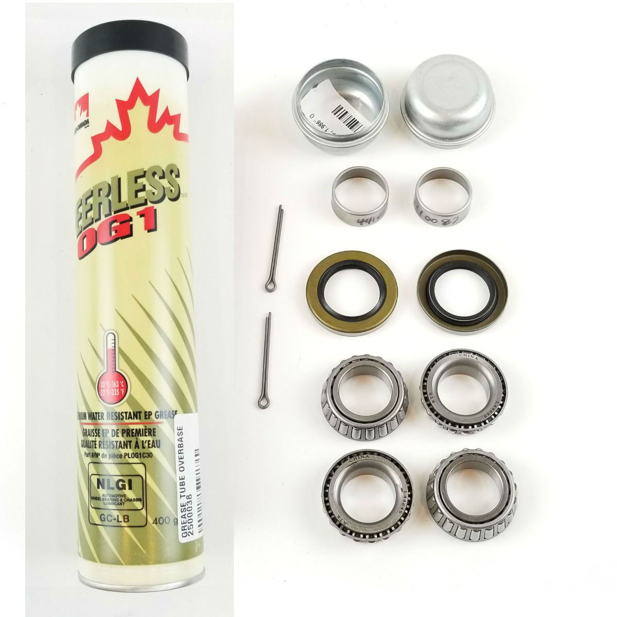 Bearing Kit For Shorelander Boat Trailers With 1-1//16 inches Spindles