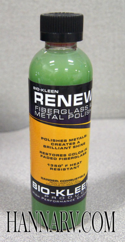 Bio-Kleen M01003 Renew Fiberglass and Metal Polish - 4-oz. Bottle