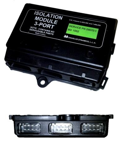 Buyers 29070-1 Western Snowplow 3-Port Isolation Module on